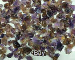 1000 grams Ametrine Gem Grade Rough, aprox size 15 to 50 gr. Piece, Deep Color