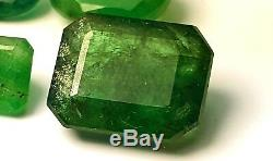 10-Carat Good Quality Emerald Cut Facet Stone From Swat 1-Piece