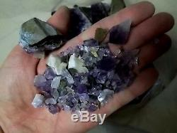 10 lbs Amethyst Geodes Clusters, Gems and pieces, Crystals Uruguay Wholesale Lot