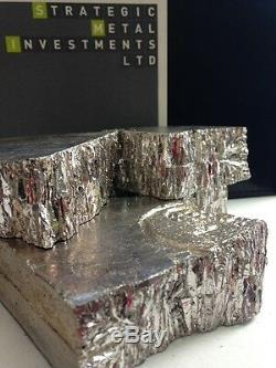 10kgs (22.2 lbs) Bismuth Metal 99.99% Pure Chunks and Pieces Crystal Growing