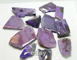 12 pieces of SUGILITE ROUGH, total weight 9 ounces
