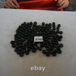 130 Pieces 1kg Natural Blue Tiger Eye Quartz Crystal Sphere Ball Healing 16-18mm