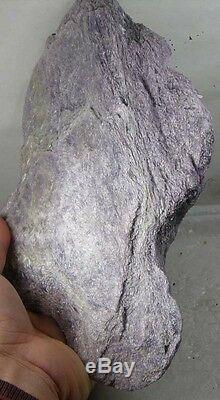1665g Natural NY USA Rough Purple Hexagonite Museum Piece Specimen 3lb 10 3/4 oz