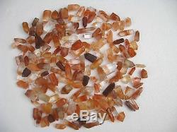 170 pieces 5.5lb RARE NATURAL RED quartz crystal Point healing