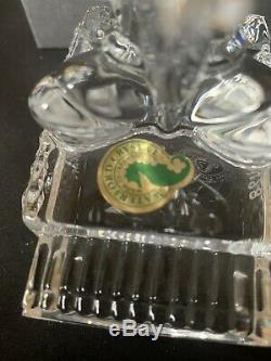 1999 Waterford Crystal Disney Disneyana Jiminy Cricket Gorgeous Piece
