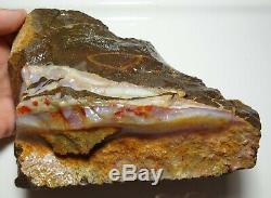 1.3 Kilogram Natural Eromanga Boulder Opal Rough Specimen Piece lapidary Hobby