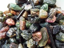 1 Pound Tourmaline Crystal Pieces