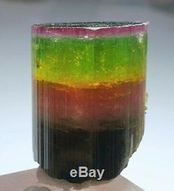26 grams Tri Color Tourmaline crystal collection piece
