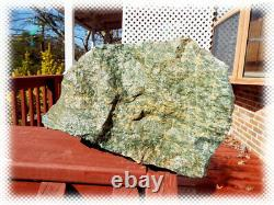 28lb Single Piece Red Ruby Crystals In Fuchsite Boulder