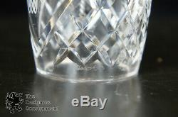 29 Piece Lot Assorted Waterford Cut Glass Crystal Estate Collection Ireland Gift