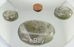 360 CARATS CSARIT Gemstone LOT DIASPORE OVAL CABOCHONS 3 piece 5840mm