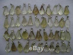 44 Pieces NATURAL Citrine quartz crystal Pendant healing