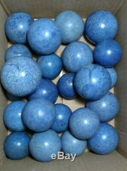4.5 KG Ball Sphere Dumortierite Natural Crystal 23 Pieces Minerals From Perú