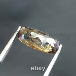 4.70ct Rarest Collection PIECE Green&Blue Touch Axinite top Faceted Gemstone@PAK