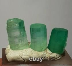 51.65 Carat #Emerald Crystals lovely pieces From Minas #Afghanistan