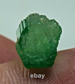 5 Pieces 12 Carat Green Emerald Crystals Lot From Panjsher Afghanistan