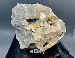8.4 lb Herkimer Diamond Matrix Piece, Lots of Crystals in Multiple Vugs! Golden