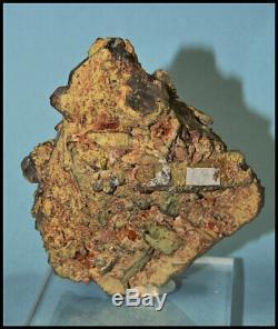 Ajoite, Kaolinite, Hematite, Epidote Old Piece, #5 Shaft Musina, S. Africa