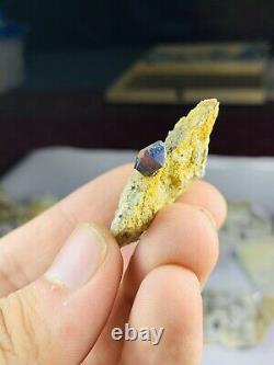 Amazing top quality Some Blue Crystal anatase Lot @pak balochistan kharan 60piec