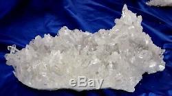 Arkansas Quartz Crystal Cluster Beauitful Collector Piece @ jimcolemancrystals