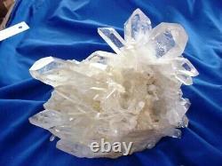 Arkansas Quartz Crystal Cluster -Collier Creek Piece, Collector Piece Super Nice