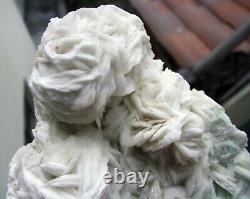 BARITE FINE WHITE BRILLIANT CRYSTALS on MATRIX from PERU. BEAUTIFUL MASTER PIECE