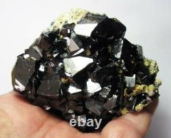 CASSITERITE CRYSTALS and QUARTZS on MATRIX from BOLIVIA. MASTER PIECE