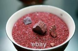 Cinnabar Crystal 8 to 25 g pieces (200 g Lot) minerals specimens Talisman #403
