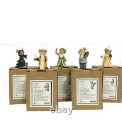 Dept. 56 Tails With Heart A CHRISTMOUSE CAROL, 5 piece set, Scrooge, NEW FOR 2020