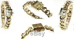 Diesel Ladie's Time Piece Collection Chain Gold Watch Dz5431