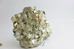 Extra Large Pyrite Crystal Cube Formation Exceptional Display Piece, 4.995 KG