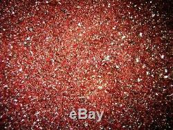 Fine Ground Cinnabar Crystal Tiny pieces 1 Kg Lot
