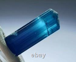 Finest indicolite tourmaline gemmy crystal high end piece