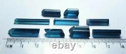 Finest indicolite tourmaline gemmy crystals high end pieces