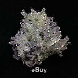 Fluorite on Quartz Specimen 170201 Chihuahua Mexico Display Piece Metaphysical