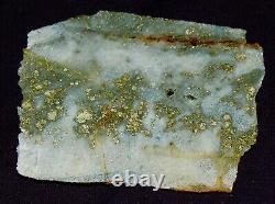 GOLD ORE High Grade Gold Ore ULTRA FINE Cut Quartz Display Specimen/Art Piece