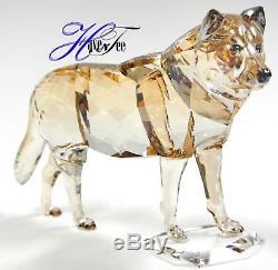 Gray Wolf Artist Signed Scs Member Piece 2019 Swarovski Crystal 5506816