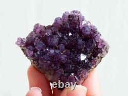 Great! Purple Amethyst Crystals Specimen Lot Of 19 Pieces From Alacam, Turkey