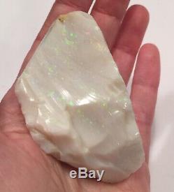 Huge Piece Of Coober Pedy Large Australian Fire Opal Rough 431 Ct