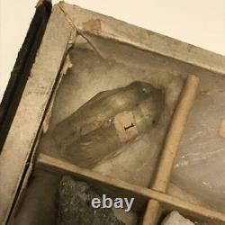 Japanese Vintage mineral specimen valuable fossil 35 pieces Antique Tokyo Retro