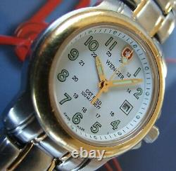 LaDy WENGER Gold TT Swiss Army GENUINE GST FIELD CollectionVery Nice Solid Piec