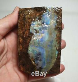Lapidary Hobby 276 Gram Natural Eromanga Boulder Opal Rough Specimen Piece
