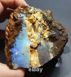 Lapidary Hobby 634 Gram Natural Eromanga Boulder Opal Rough Specimen Piece