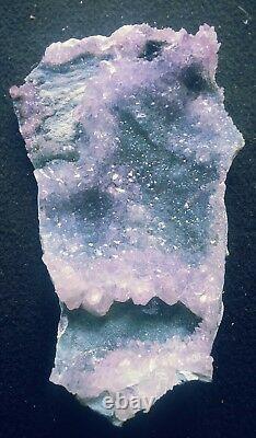 Large Amethyst Flower Crystal Display Specimen Friendship Crystal 2 Pieces