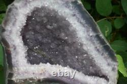 Large Natural Brazilian Amethyst Church Cluster Crystal Piece 5.2kg Gift Wrapped