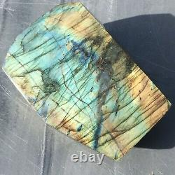 Large Polished Labradorite Crystal Free Form Display Piece Madagascar 2.40 Kg