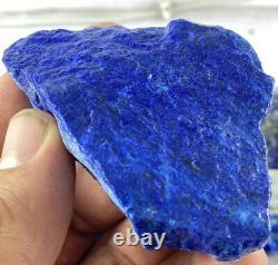 Large pieces Grade AAA Rough Premium Lapis Lazuli crystals 1KG wholesale lot 7PC