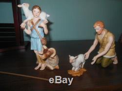 Lenox Renaissance Nativity Set 23 Pieces Standing Camel, Creche, Crystal Star