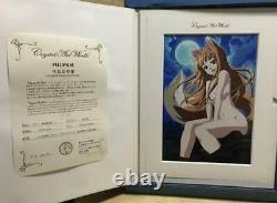 Limited to 100 pieces Serial numbered Crystal Artworks Spice and Wolf