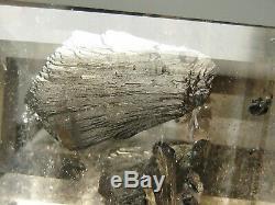 MCV- Very Rare Arsenopyrite in Quartz Super collector piece Gemstone 9.37 ct